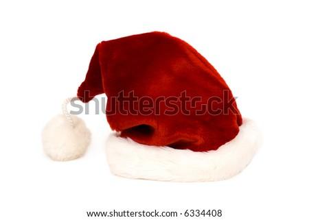 Santa Clause hat - stock photo