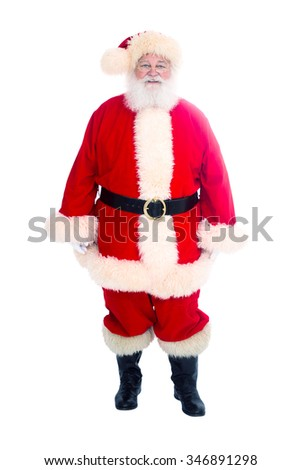 Santa Clause Standing