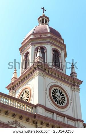 Santa Cruz Catholic Church, Bangkok Thailand. - stock photo
