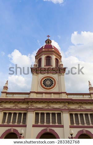 Santa Cruz Church in Bangkok