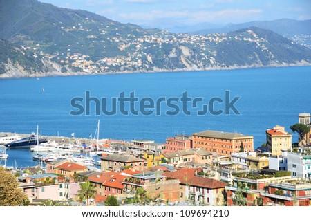 Santa Margherita, Italy - stock photo