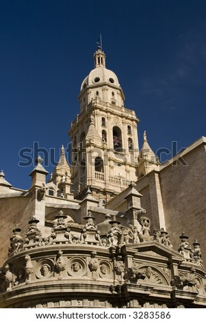 Santa Maria Cathedral of the Diocese of Cartagena in Murcia, Spain.