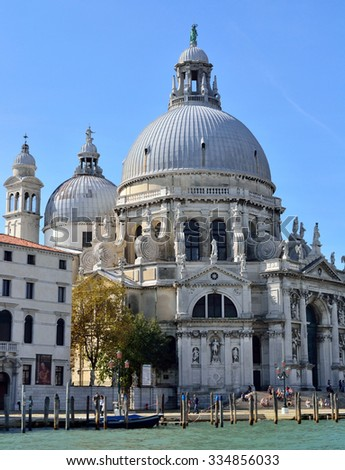 Santa Maria della Salute is one of the most iconic structures on the Grand Canal