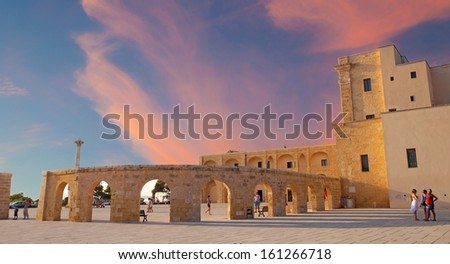 Santa Maria di Leuca, Italy - stock photo