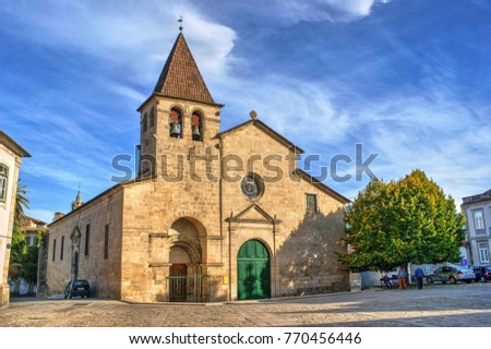 Santa Maria Maior church in Chaves, north of Portugal