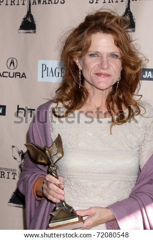 SANTA MONICA, CA - FEB 26:  Dale Dickey, Best Supporting Actress in the Press Room of the 2011 Film Independent Spirit Awards at the Beach on February 26, 2011 in Santa Monica, CA - stock photo