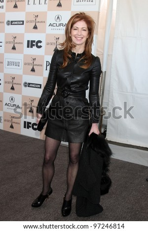 SANTA MONICA, CA - FEB 26: Dana Delany at the 2011 Film Independent Spirit Awards at Santa Monica Beach on February 26, 2011 in Santa Monica, California - stock photo