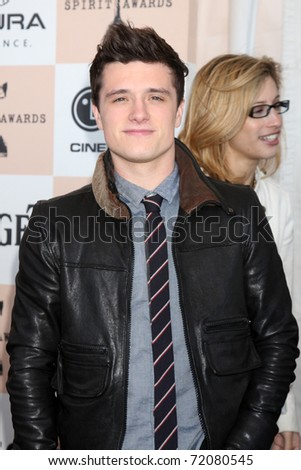SANTA MONICA, CA - FEB 26:  Josh Hutcherson arrives at the 2011 Film Independent Spirit Awards at the Beach on February 26, 2011 in Santa Monica, CA