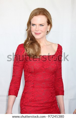 SANTA MONICA, CA - FEB 26: Nicole Kidman at the 2011 Film Independent Spirit Awards at Santa Monica Beach on February 26, 2011 in Santa Monica, California - stock photo