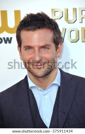 SANTA MONICA, CA - JANUARY 16, 2014: Bradley Cooper at the 19th Annual Critics' Choice Awards at The Barker Hangar, Santa Monica Airport.