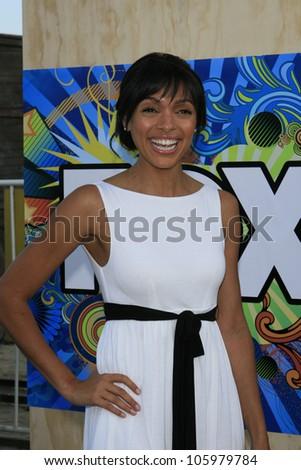 SANTA MONICA, CA - JUL 23: Tamara Taylor Fox Summer TCA Press Tour All Star Party at the Santa Monica Pier, Santa Monica, California on July 23, 2007 - stock photo