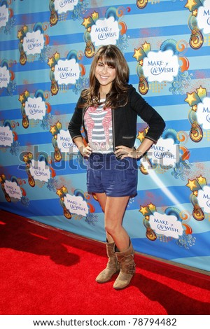 SANTA MONICA - MAR 14: Daniella Monet at the Kevin + Steffiana James + Make-A-Wish Foundation Host A Day of Fun at the Santa Monica Pier in Santa Monica, California on March 14, 2010.