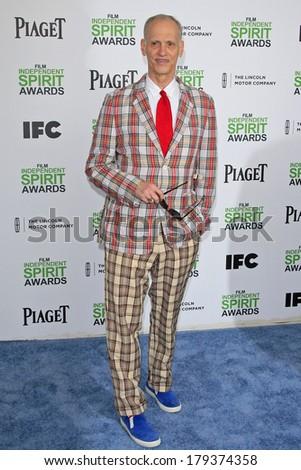 SANTA  MONICA - MAR 1: John Waters at the 2014 Film Independent Spirit Awards at Santa Monica Beach on March 1, 2014 in Santa Monica, California - stock photo