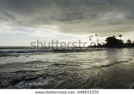 Santa Rita beach is a small village very close to Genipabu in Natal, RN, Brazil