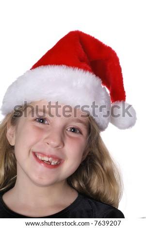 Santa's little helper - stock photo