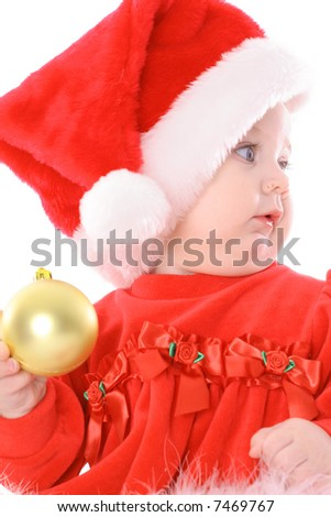 santa who - stock photo