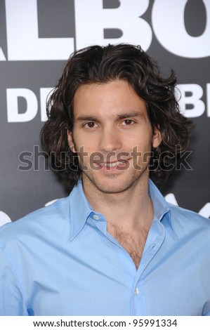 "SANTIAGO CABRERA - star of ""Heroes"" - at the world premiere of ""Rocky Balboa"" at the Grauman's Chinese Theatre, Hollywood. December 13, 2006  Los Angeles, CA Picture: Paul Smith / Featureflash"