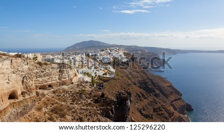 Santorini Greece - stock photo
