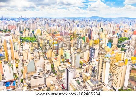 Sao Paulo, Brazil - stock photo