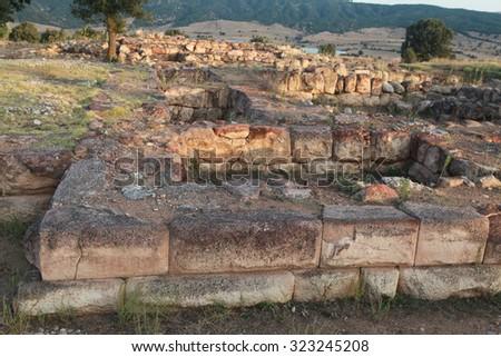 Sapinuwa is a Capital City Of Hittite State, Corum. - stock photo