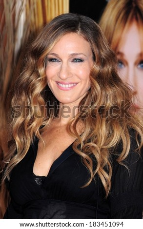 Sarah Jessica Parker at DID YOU HEAR ABOUT THE MORGANS? Premiere, The Ziegfeld Theatre, New York, NY December 14, 2009  - stock photo