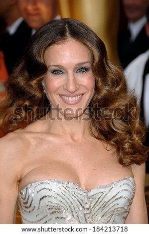 Sarah Jessica Parker at 81st Annual Academy Awards - ARRIVALS, Kodak Theatre, Los Angeles, CA 2/22/2009  - stock photo