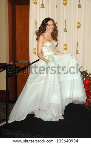 Sarah Jessica Parker in the Press Room at the 81st Annual Academy Awards. Kodak Theatre, Hollywood, CA. 02-22-09