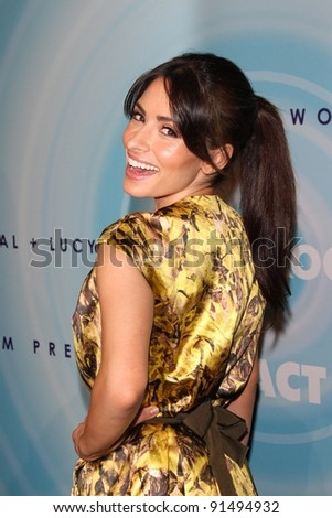 Sarah Shahi at the Women In Film's 2011 Crystal + Lucy Awards, Beverly Hilton hotel, Beverly Hills, CA. 06-16-11