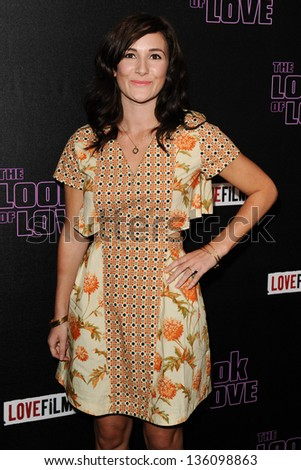 "Sarah Solemani arriving for premiere of ""The Look of Love"" at the Curzon Soho, London. 15/04/2013 Picture by: Steve Vas"