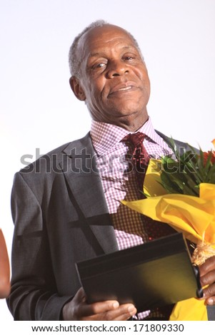 SARAJEVO - AUGUST 17: The American actor Danny Glover posing for photographers at the 19th Sarajevo Film Festival on August 17, 2013 in Sarajevo.