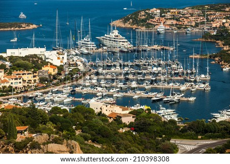 Sardinia - Porto Cervo - stock photo