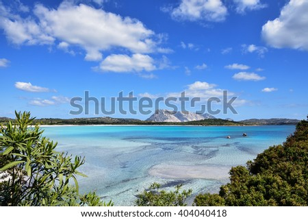 Sardinia, San Teodoro. - stock photo