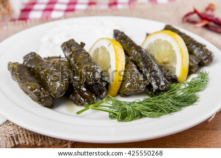 Sarma is a Turkish Traditional famous food