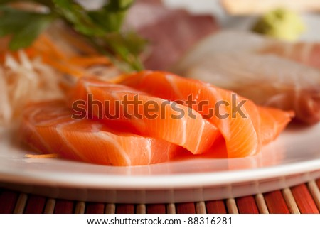 Sashimi set - Salmon