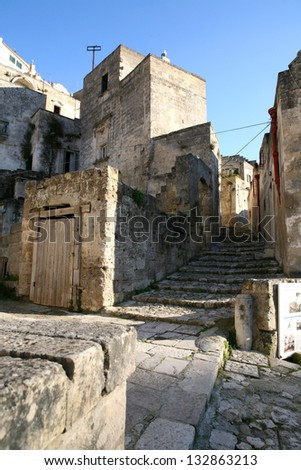 sassi of matera in italy