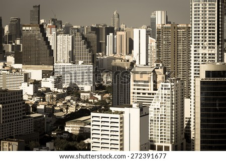 Sathron District, one of the most significant business areas in Thailand. It�¢??s located on the Bangkok downtown.