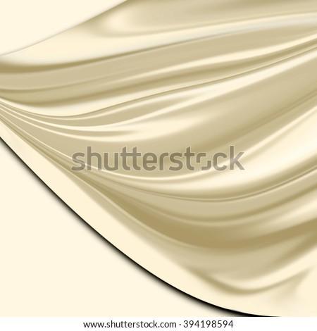 satin fabric background  - stock photo