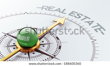 Saudi Arabia High Resolution Real Estate Concept - stock photo