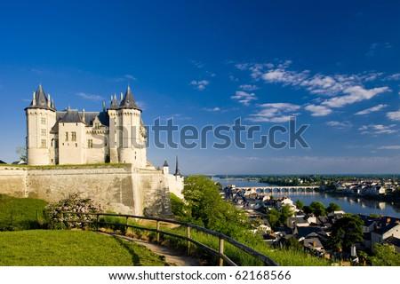 Saumur, Pays-de-la-Loire, France - stock photo
