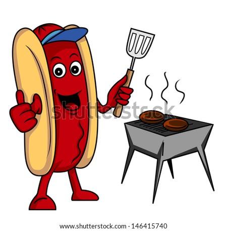 sausage party - stock photo