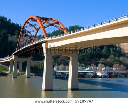 Sauvie Island Bridge, Oregon