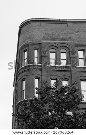 Savannah Street Corner - stock photo