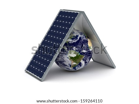 Save Earth - stock photo