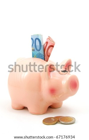save money in yout piggy bank and spend it for real estate
