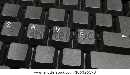 Save -on computer keyboard