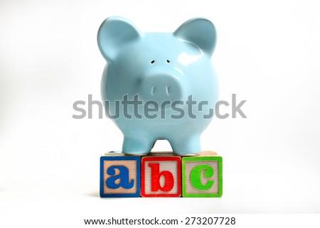 Saving for Education - stock photo
