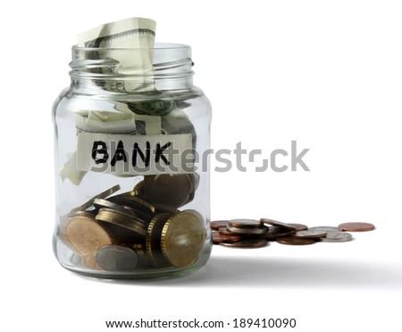 Saving money concept - stock photo