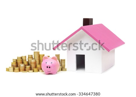 Saving money for buying a house