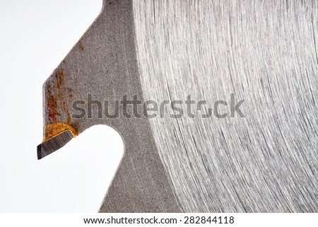saw - stock photo