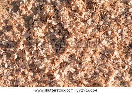 sawdust background - stock photo